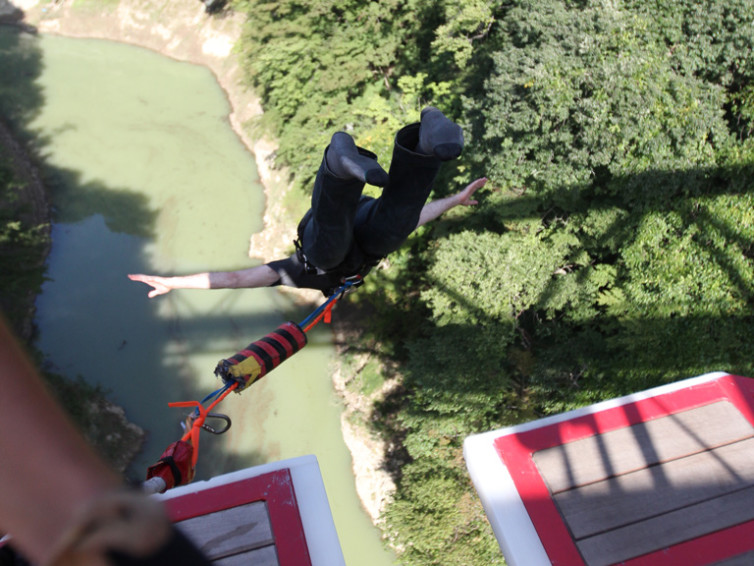 Bungee Jumping in Japan