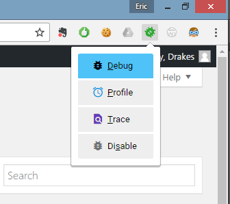 Xdebug helper for Chrome